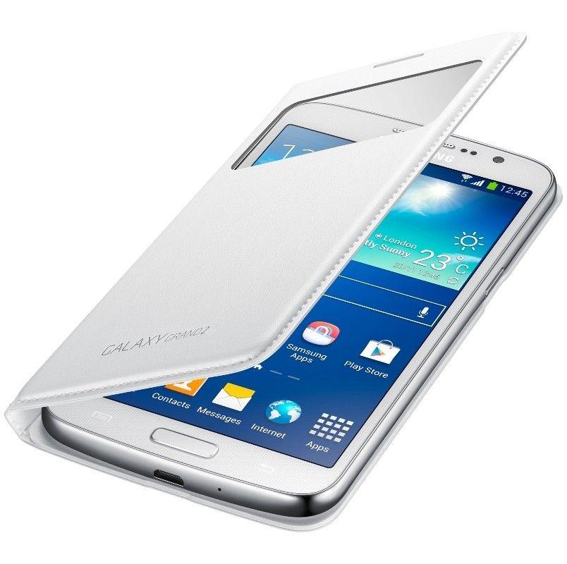Чехол Samsung EF-CG710BWEGRU White для Galaxy Grand 2 - 3