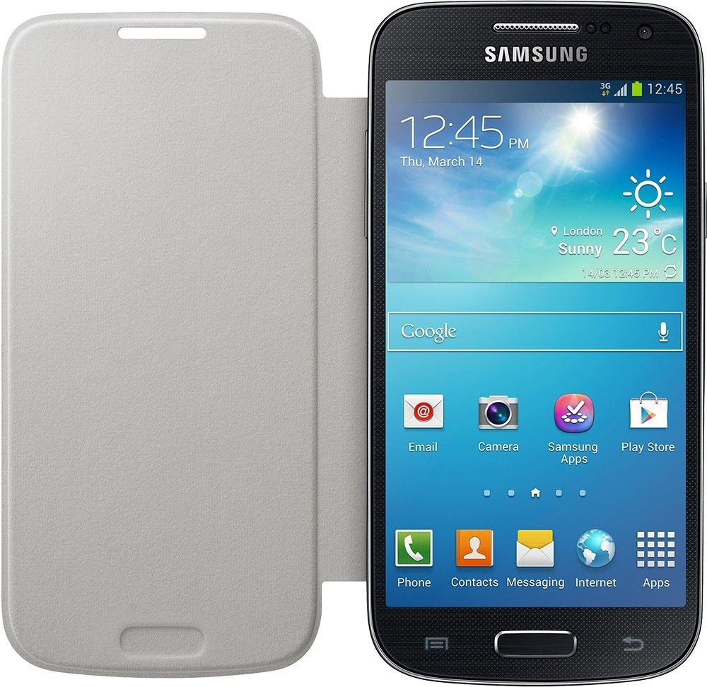 Чехол-книга Samsung для Galaxy S4 Mini White (EF-FI919BWEGWW) - 1