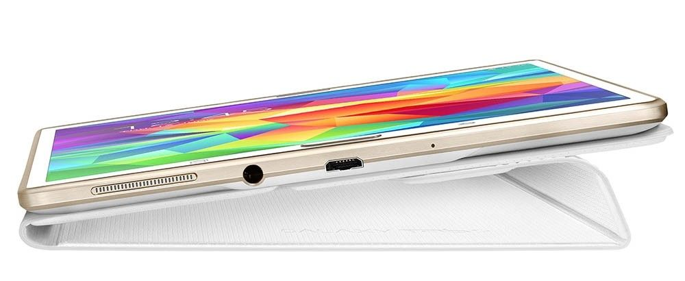 "Чехол Samsung для Galaxy Tab S 8.4"" EF-BT700BWEGRU Dazzling White - 5"