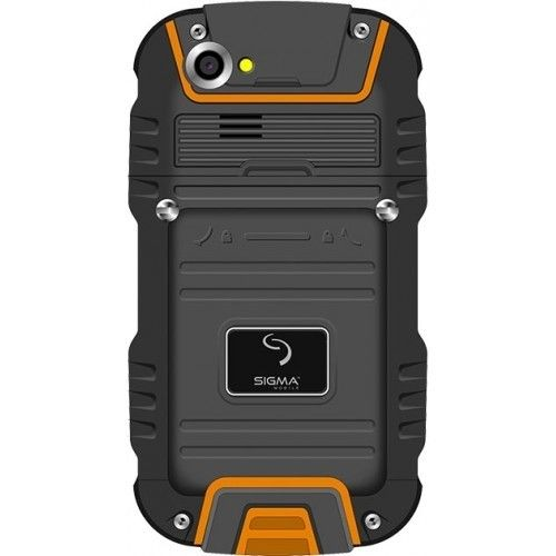 Мобильный телефон Sigma mobile X-treme PQ22A Black-Orange - 1