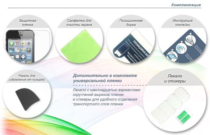 Защитная пленка Global Shield ScreenWard для LG L65 Dual D285 глянцевая (1283126460302) - 1