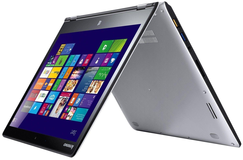 Ноутбук Lenovo Yoga 3 14 (80JH003EUA) Silver - 2