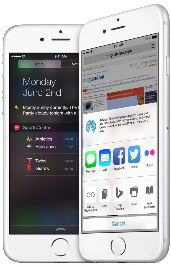 Мобильный телефон Apple iPhone 6 128GB Silver - 5