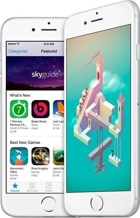 Мобильный телефон Apple iPhone 6 Plus 128GB Silver - 4