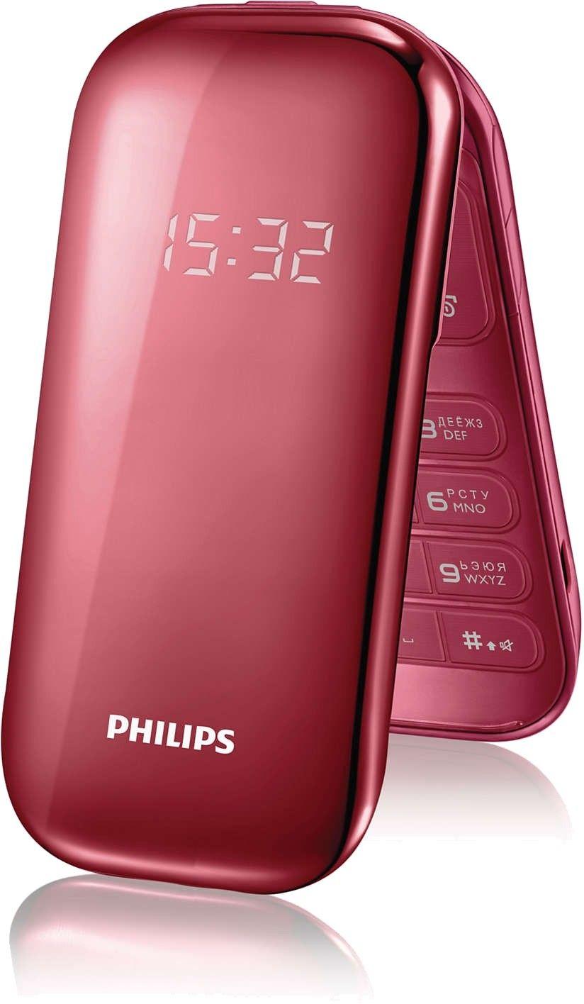 Мобильный телефон Philips E320 Red - 1