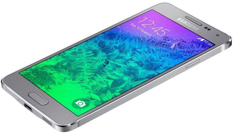 Мобильный телефон Samsung Galaxy Alpha G850F Sleek Silver - 6