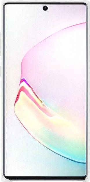 Чехол Samsung Leather Cover для Samsung Galaxy Note 10 Plus (EF-VN975LWEGRU) White от Територія твоєї техніки - 2