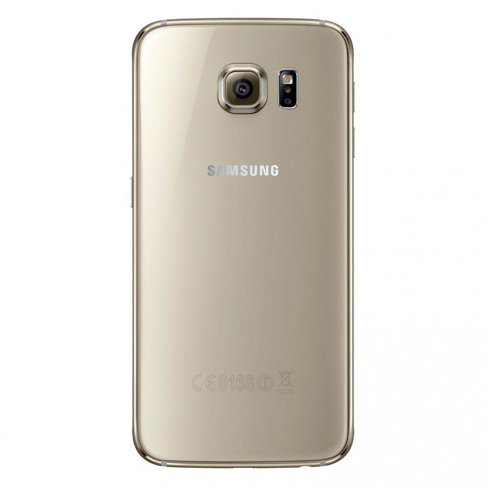 Мобильный телефон Samsung Galaxy S6 64Gb G920FD (SM-G920FZDVSEK) Gold - 1