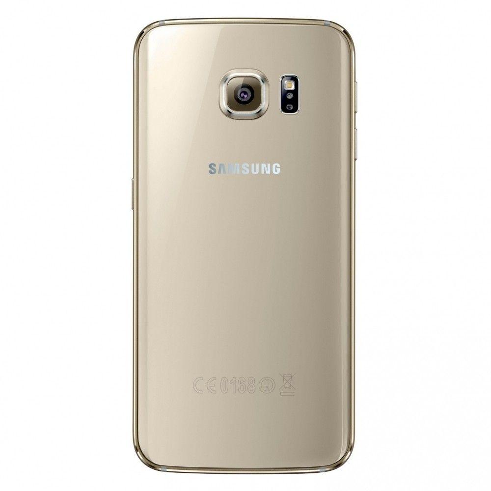 Мобильный телефон Samsung Galaxy S6 Edge 128GB G925F (SM-G925FZDFSEK) Gold - 1