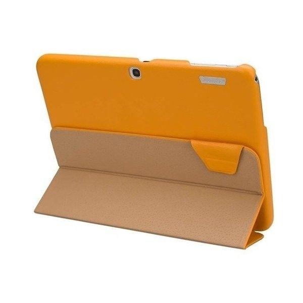 Чехол-книжка Jison Premium Leatherette Smart Case (JS-S52-03H80) Yellow for Galaxy Tab 3 10.1 (P5200) - 2