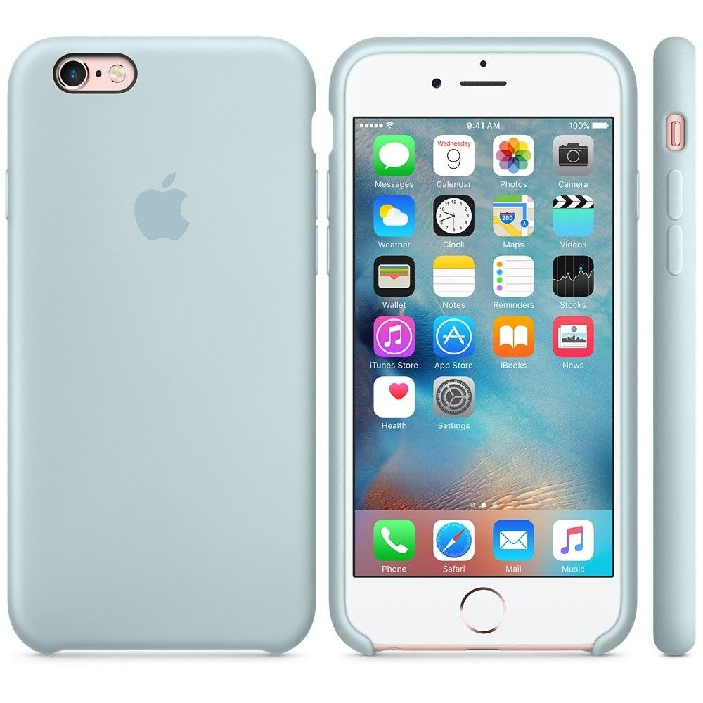 Силиконовый чехол Apple iPhone 6s Plus Silicone Case (MLD12) Turquoise - 1