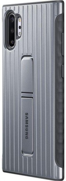Чехол-накладка Samsung Protective Standing Cover для Samsung Galaxy Note 10 Plus (EF-RN975CSEGRU) Silver от Територія твоєї техніки - 3