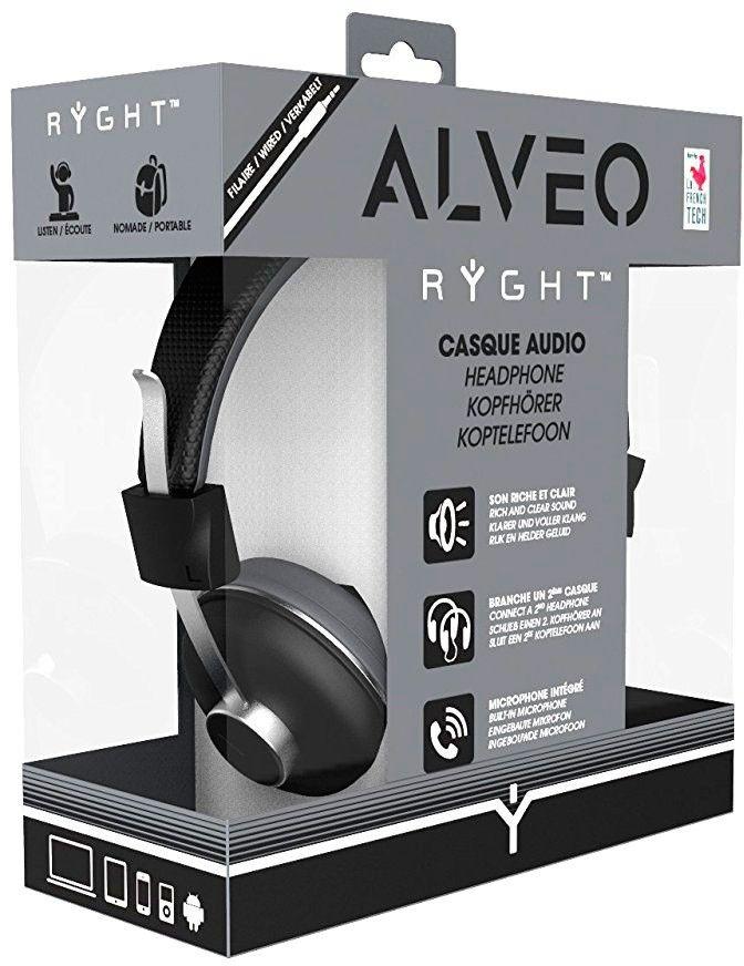 Наушники RYGHT ALVEO Wired Grey Black. Купить на сайте. Доставка в ... abe6bb2d1e643
