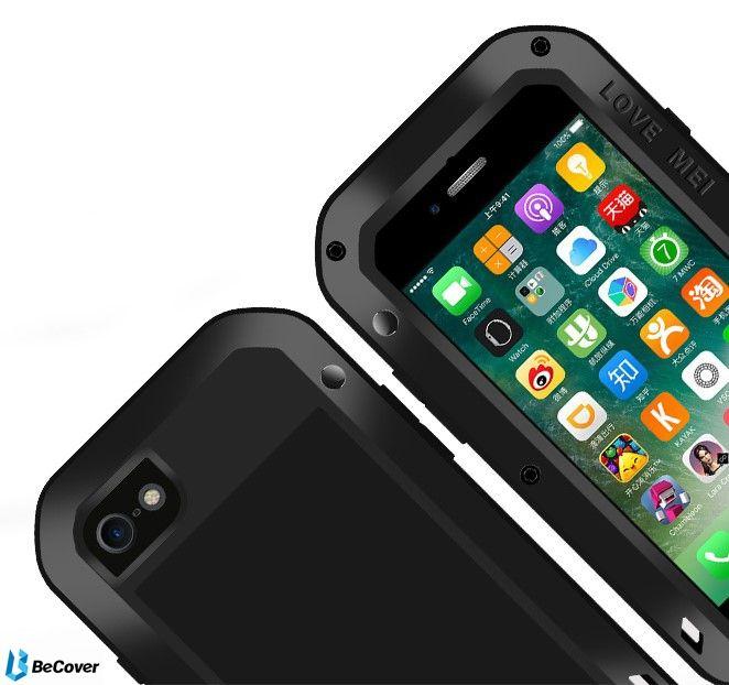 Панель Love Mei Powerful для Apple iPhone 7/8 (703116) Black от Територія твоєї техніки - 4