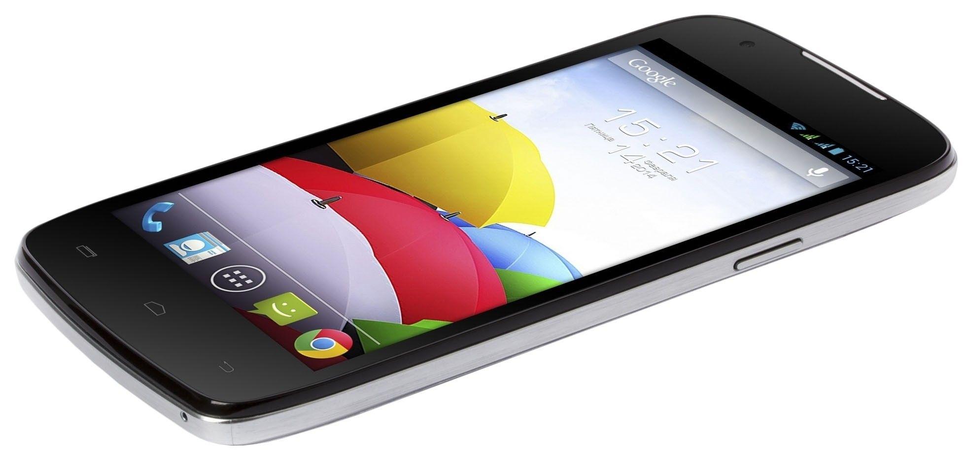 Мобильный телефон Fly IQ4405 Quad Evo Chic Silver - 3