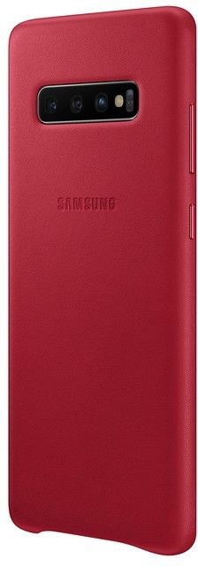 Панель Samsung Leather Cover для Samsung Galaxy S10 Plus (EF-VG975LREGRU) Red от Територія твоєї техніки - 3