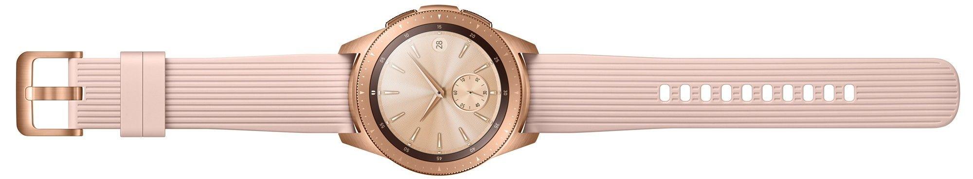 Смарт часы Samsung Galaxy Watch 42mm (SM-R810NZDASEK) Gold от Територія твоєї техніки - 6