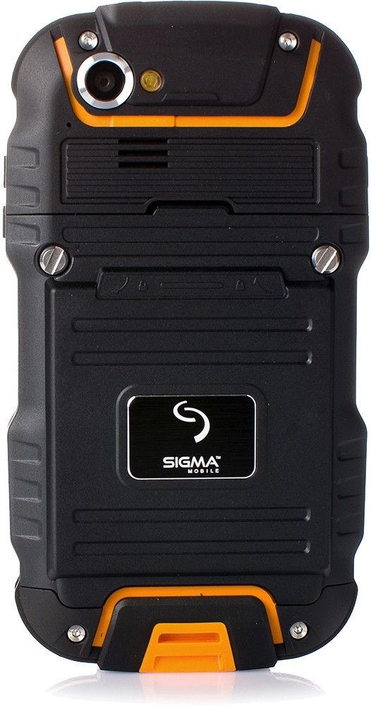 Мобильный телефон Sigma mobile X-treme PQ23 Black/Orange - 1