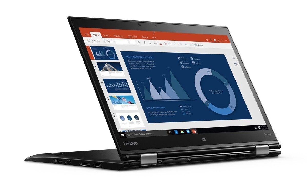 Ноутбук LENOVO ThinkPad Yoga X1 (20FQS02L00) - 2