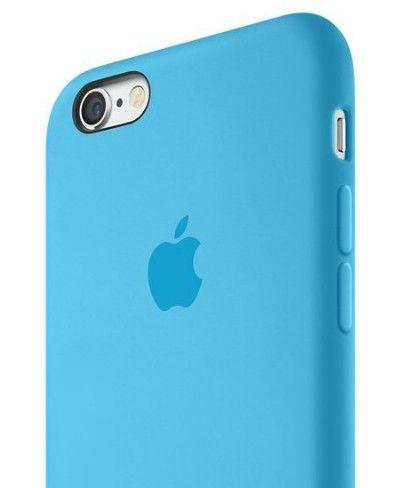 Силиконовый чехол Apple iPhone 6s Plus Silicone Case (MKXP2) Blue - 4
