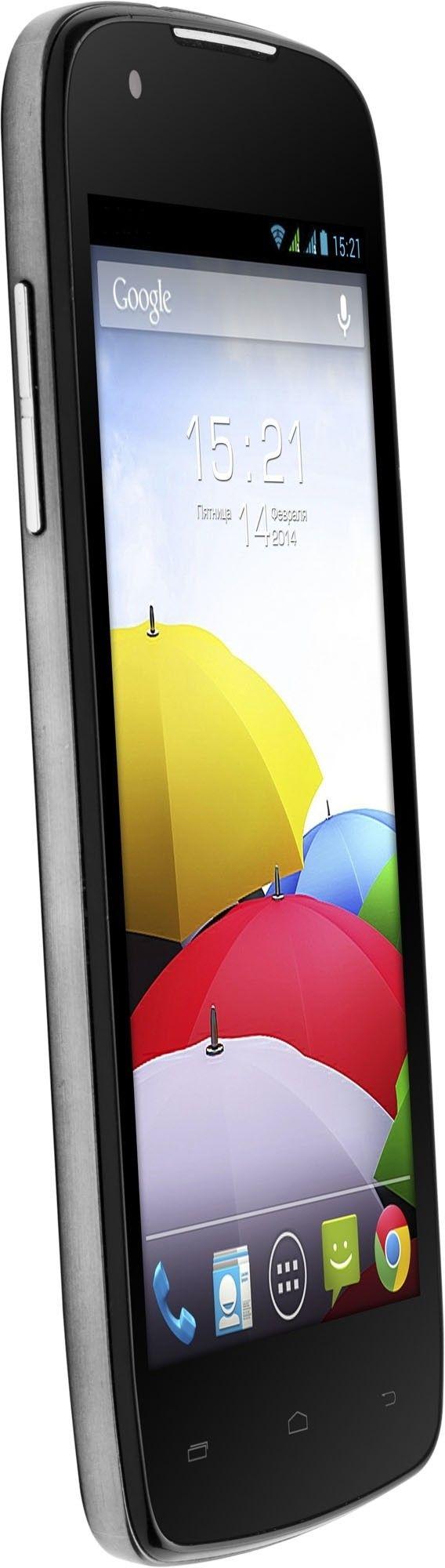 Мобильный телефон Fly IQ4405 Quad Evo Chic Silver - 2