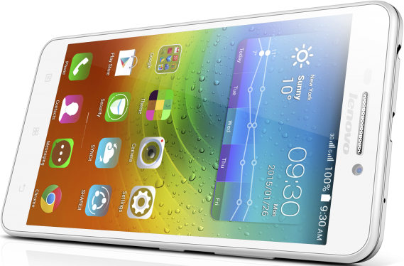Мобильный телефон Lenovo A5000 White - 1