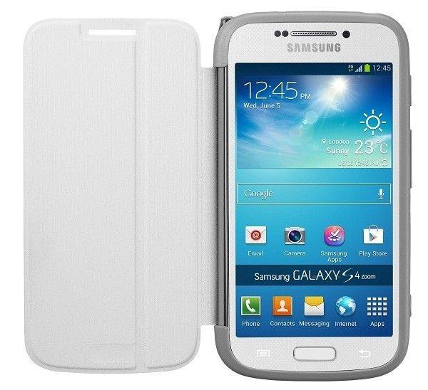 Чехол Samsung Zoom Flip Cover EF-GGS10FWEGWW White для Galaxy S4 - 2