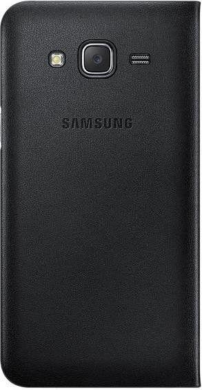 Чехол Samsung Flip Wallet для Samsung Galaxy J7 Black (EF-WJ700BBEGRU) - 1