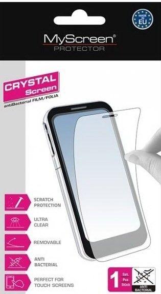 Защитная пленка MyScreen Apple iPhone 4/4S (Crystal, antiBacterial) - 1