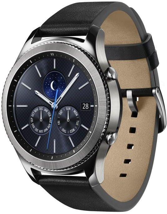 Смарт часы Samsung Galaxy Gear S3 Classic (SM-R770NZSASEK) Silver - 1