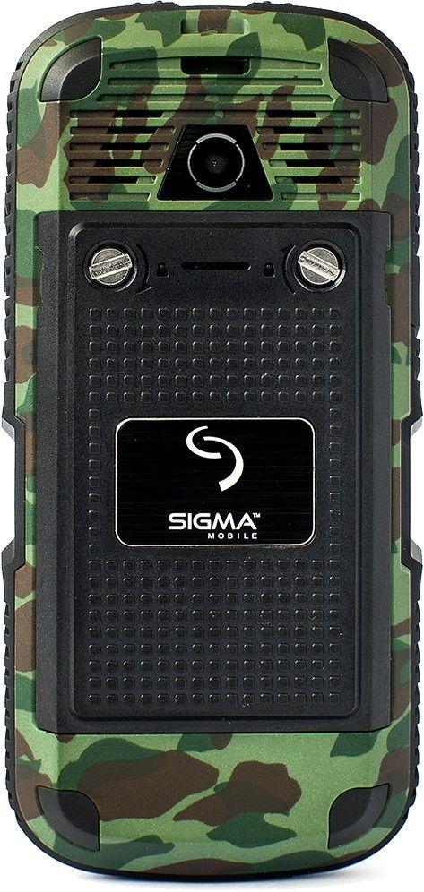 Мобильный телефон Sigma mobile X-treme IP67 Khaki - 1