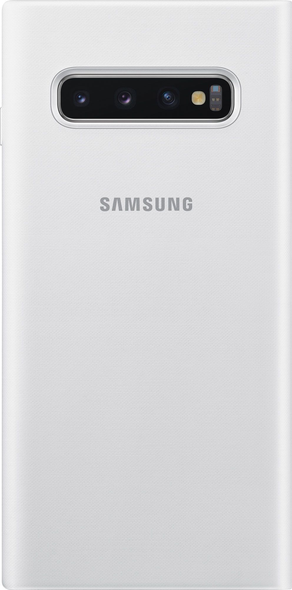 Чехол-книжка Samsung LED View Cover для Samsung Galaxy S10 (EF-NG973PWEGRU) White от Територія твоєї техніки - 2