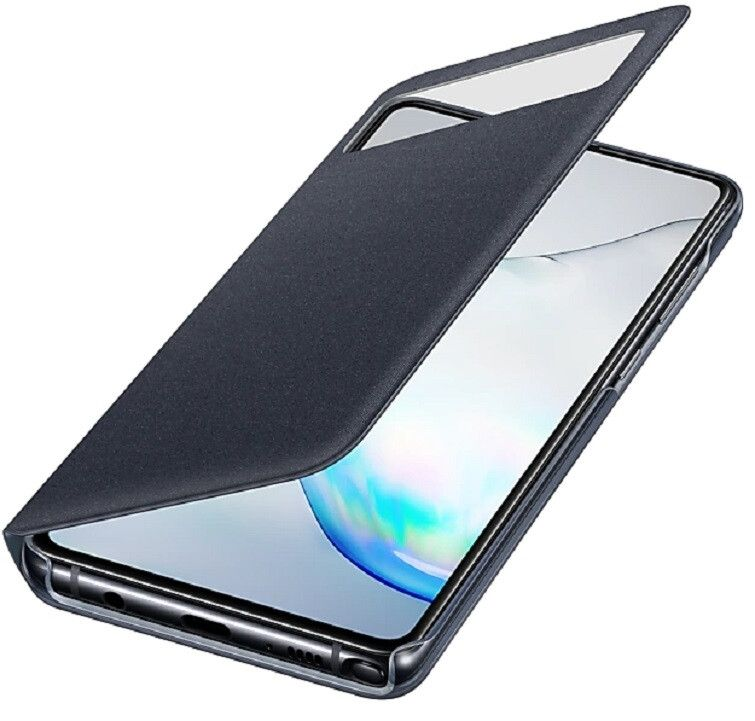 Чехол Samsung S View Wallet Cover Note 10 Lite (EF-EN770PBEGRU) Black от Територія твоєї техніки - 2