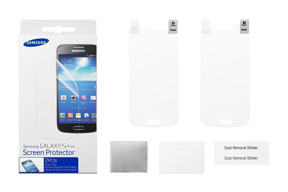 Защитная пленка для Galaxy S4 mini ET-FI919CTEGWW - 3