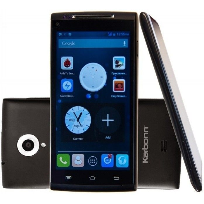 Мобильный телефон Karbonn KS908 Black - 3