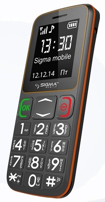 Мобильный телефон Sigma mobile Comfort 50 Mini3 Grey-Orange - 4