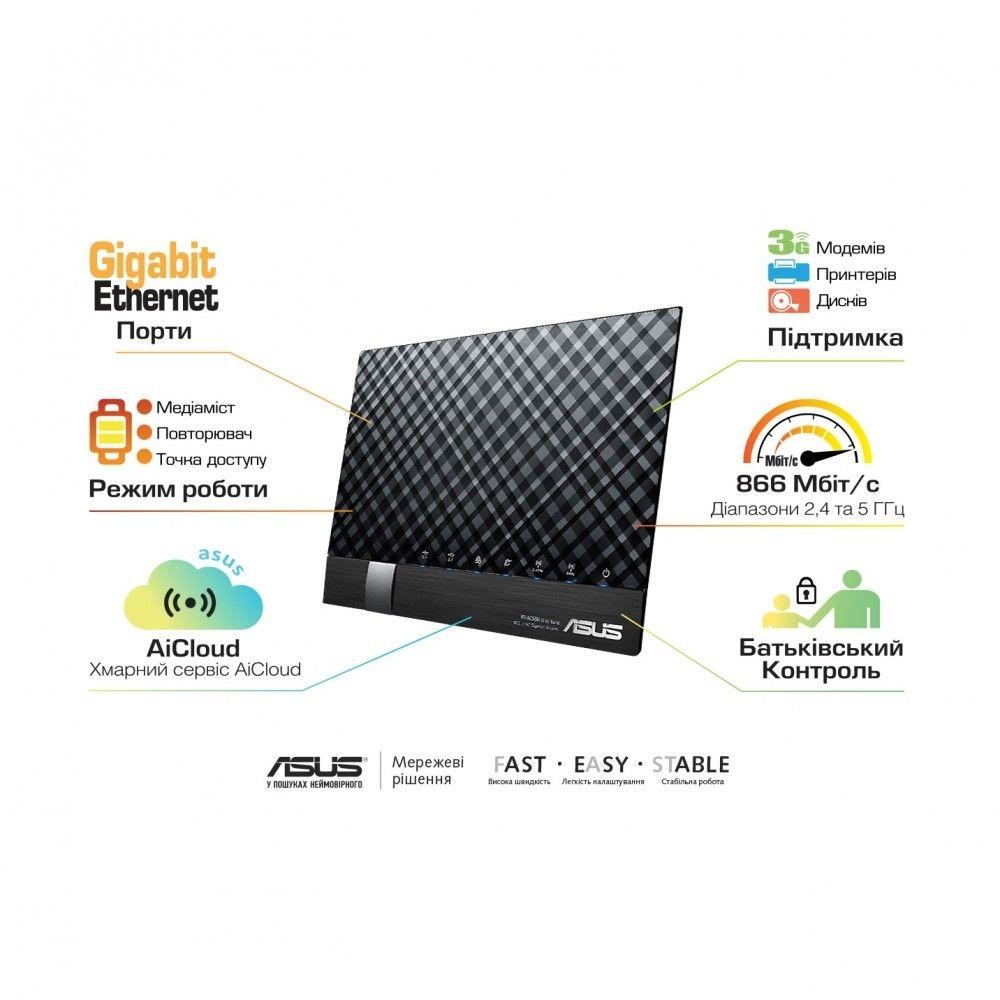 Wi-Fi роутер ASUS RT-AC56U - 1