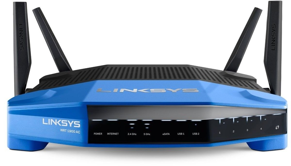 Wi-Fi роутер Linksys WRT1900AC - 2