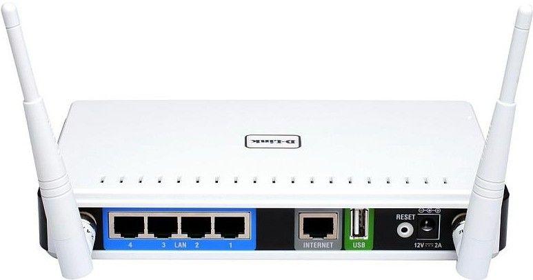 Wi-Fi роутер D-Link DIR-825 - 1