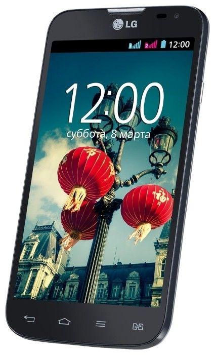 Мобильный телефон LG L70 D325 Dual Sim Black - 1