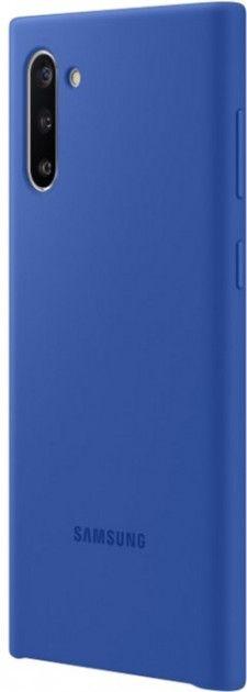 Накладка Samsung Silicone Cover для Samsung Galaxy Note 10 (EF-PN970TLEGRU) Blue от Територія твоєї техніки - 3