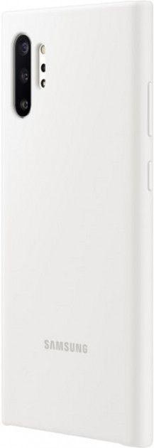 Накладка Samsung Silicone Cover для Samsung Galaxy Note 10 Plus (EF-PN975TWEGRU) White от Територія твоєї техніки - 4