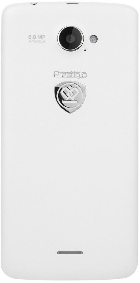 Мобильный телефон Prestigio MultiPhone 5507 Duo White - 1
