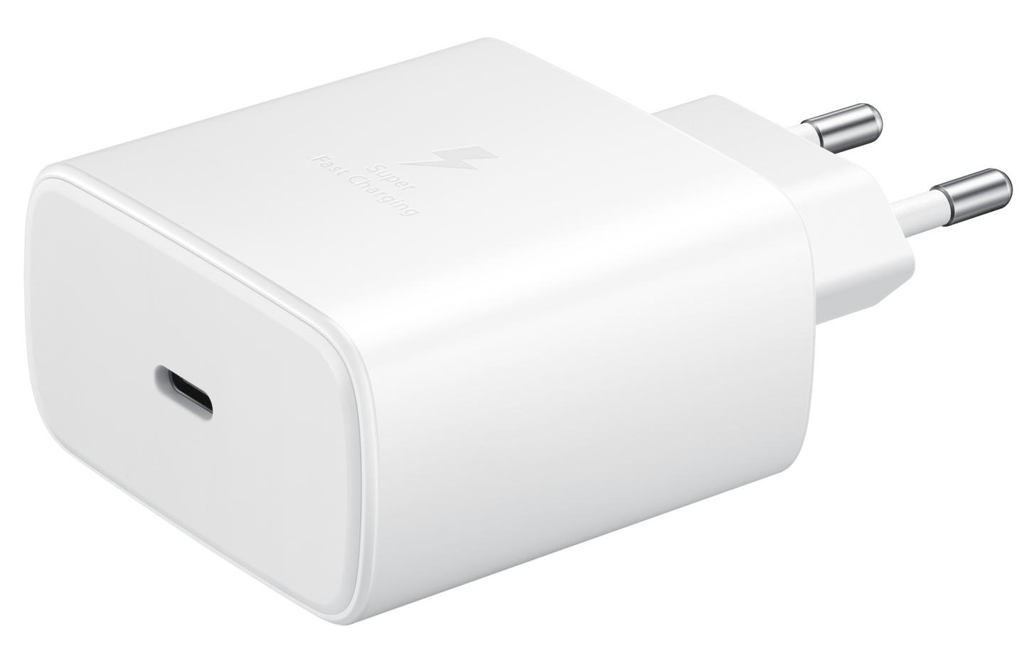 Сетевое зарядное устройство Samsung Fast Charging Type-C 45W (EP-TA845XWEGRU) White от Територія твоєї техніки - 6