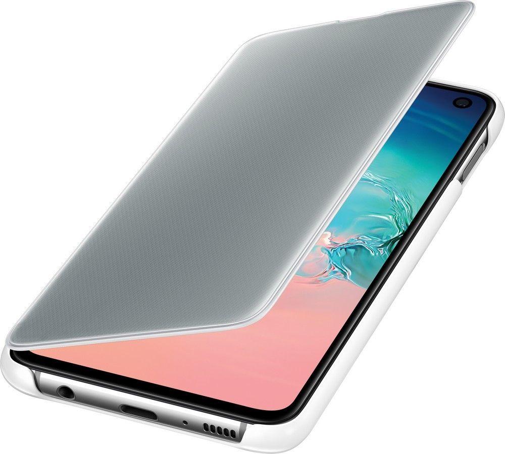 Чехол-книжка Samsung Clear View Cover для Samsung Galaxy S10e (EF-ZG970CWEGRU) White от Територія твоєї техніки - 4