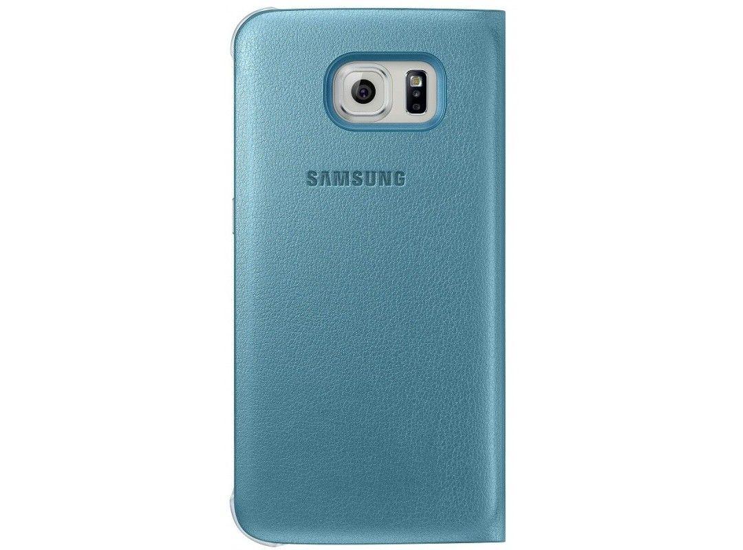 Чехол Samsung S View Zero для Samsung Galaxy S6 Blue (EF-CG920PLEGRU) - 1