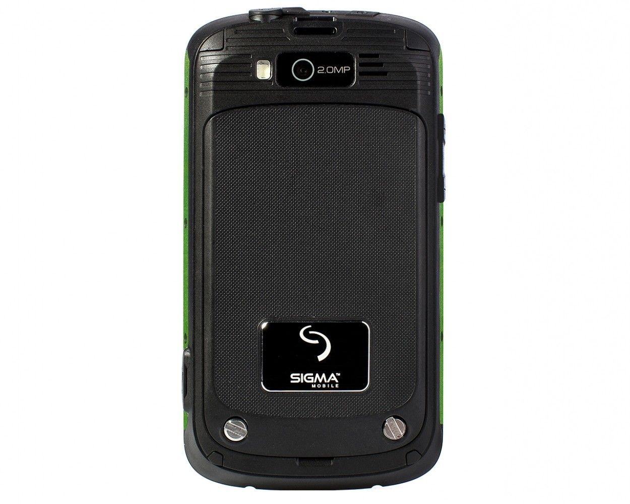 Мобильный телефон Sigma mobile X-treme PQ12 Green - 1