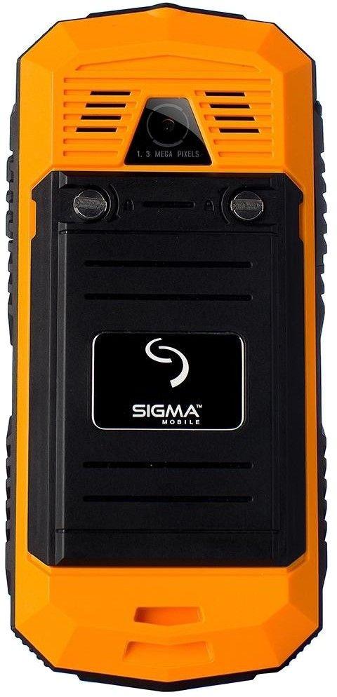 Мобильный телефон Sigma mobile X-treme II67 Dual Sim Black-Orange - 1