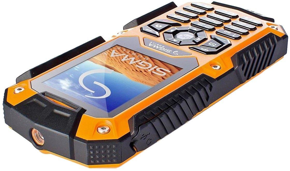 Мобильный телефон Sigma mobile X-treme II67 Dual Sim Black-Orange - 3