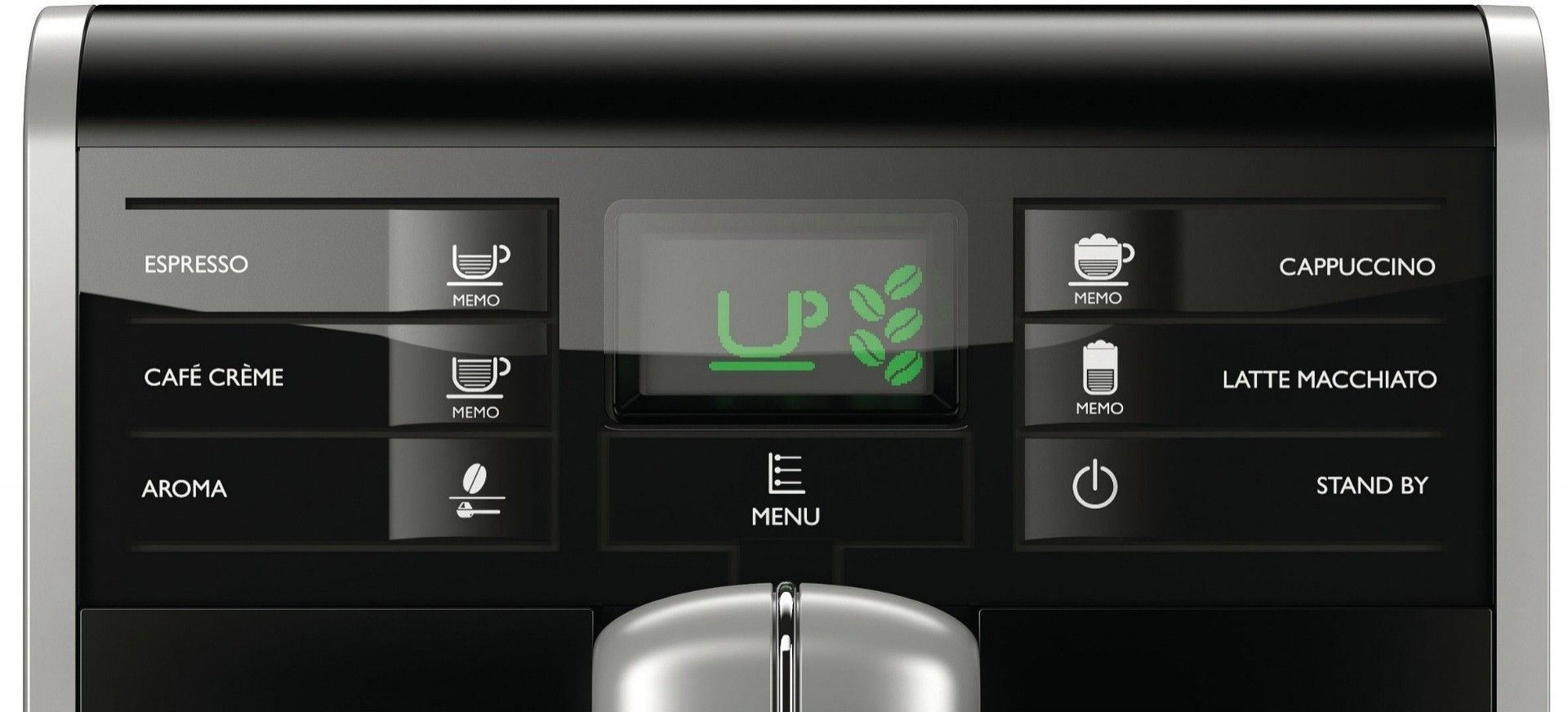 Кофеварка Saeco Moltio One Touch Cappuccino (HD8769/09) - 1